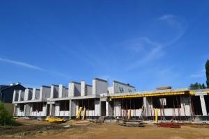 zdjęcie z budowy Rodzinne Podolany