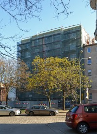 zdjęcie z budowy Kaszubska 10