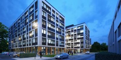 zdjęcie z budowy Business Garden Wrocław