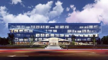 zdjęcie z budowy Ocean Office Park