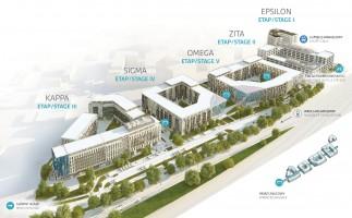zdjęcie z budowy Promenady Business Park