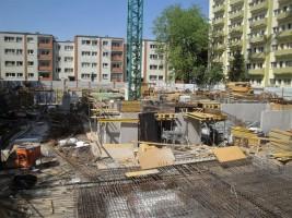 zdjęcie z budowy Cascade Residence