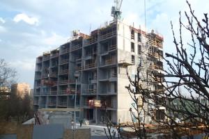 zdjęcie z budowy Rozewska