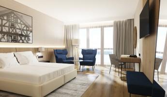 zdjęcie z budowy Hotel Radisson Blu Resort, Ostróda Mazury Lakes