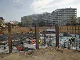 zdjęcie z budowy Wola Skwer