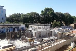zdjęcie z budowy Zbożowa 2A Apartamenty
