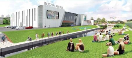 wizualizacje Będzin Arena