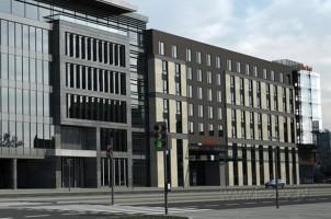 wizualizacje Hotel i biurowiec Qubus