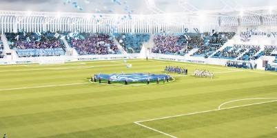 wizualizacje Nowy stadion Ruchu Chorzów