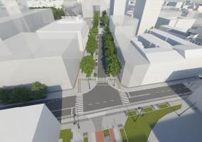 wizualizacje Rewitalizacja Centrum Łodzi - Obszar nr 2