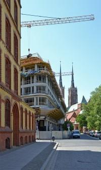 zdjęcie z budowy Hotel The Bridge