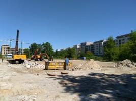 zdjęcie z budowy Apartamenty Bokserska