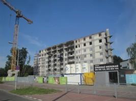 zdjęcie z budowy Bemo Park