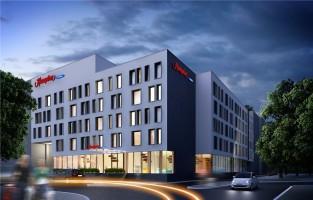 wizualizacje Hampton by Hilton Białystok
