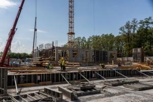 zdjęcie z budowy Red Park III