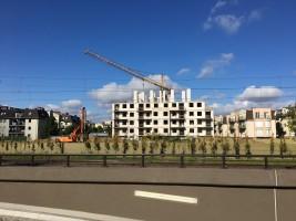 zdjęcie z budowy Polanka Kameralna