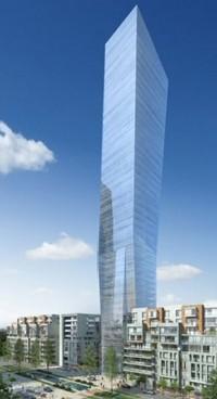 wizualizacje Angel Wings Tower B
