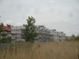 zdjęcie z budowy Wrzosowa Aleja
