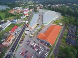 zdjęcie z budowy Vendo Park