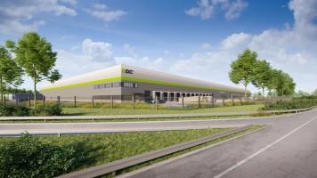 zdjęcie z budowy MDC2 Park Łódź South