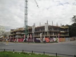 zdjęcie z budowy WoW Wola