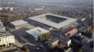 wizualizacje Nowego Stadionu Polonii Warszawa