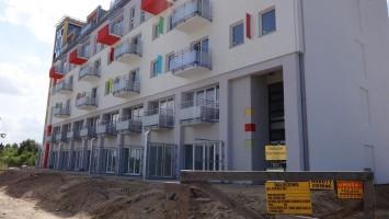zdjęcie z budowy Osiedle Panorama