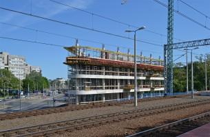 zdjęcie z budowy Biurowiec SQ Business Center