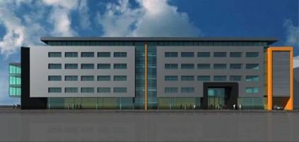 wizualizacje Budynek biurowo-usługowy Narutowicza