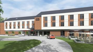zdjęcie z budowy Kompleks hotelowo-konferencyjny