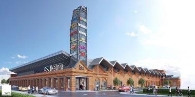 zdjęcie z przebudowy Centrum handlowo-rozrywkowe Tkalnia