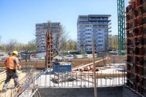 zdjęcie z budowy Narutowicza Residence 2