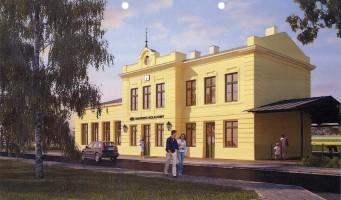 zdjęcie Dworzec Wieliczka Park