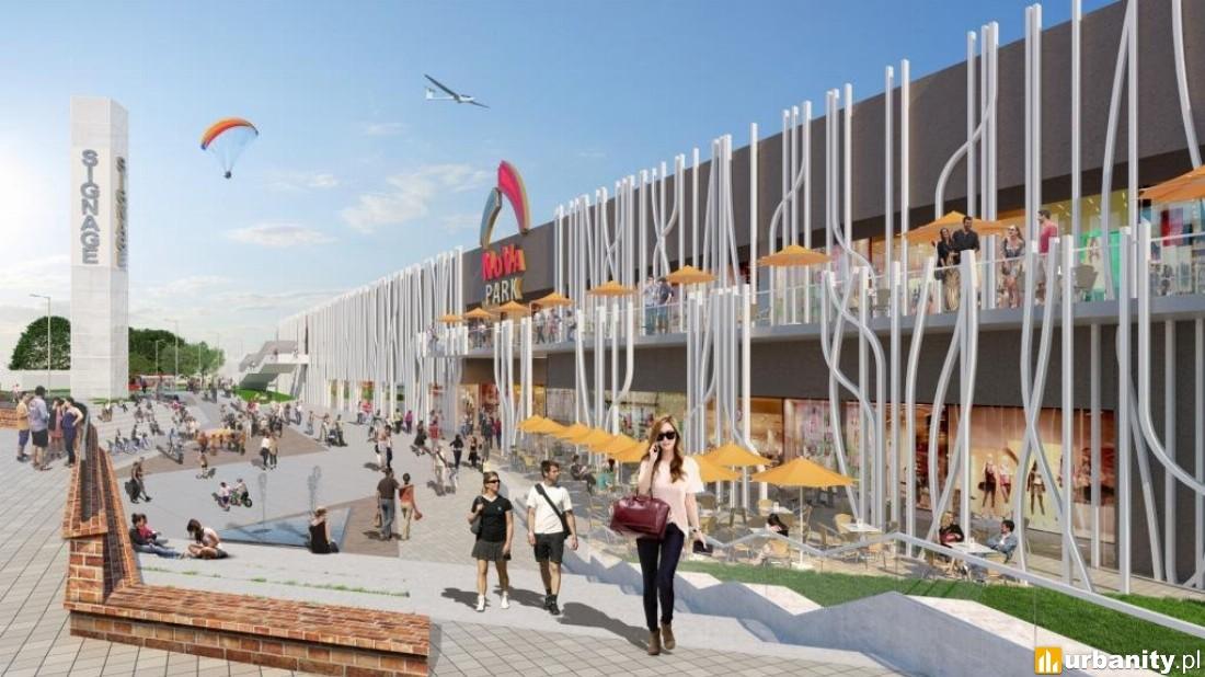 rozbudowa centrum handlowego