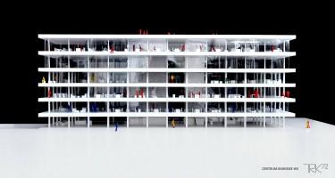 wizualizacje Centrum Biurowe W5