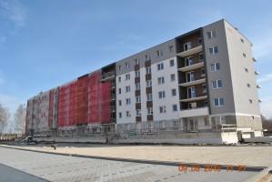 zdjęcie z budowy Osiedle Pod Platanami