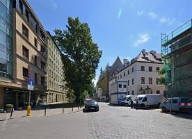 zdjęcie z przebudowy Kamienice Księcia Witolda