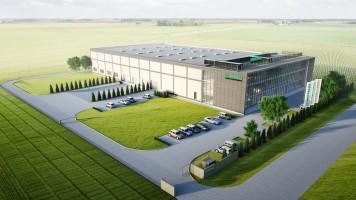 zdjęcie z budowy [Śródka] Siedziba Hoppecke Baterie Polska