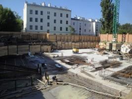 zdjęcie z budowy Groszowicka