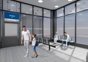 zdjęcie z budowy Dworzec kolejowy