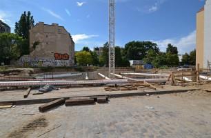zdjęcie z budowy Wyszyńskiego 56