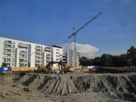 zdjęcie z budowy Dom Pod Szóstką