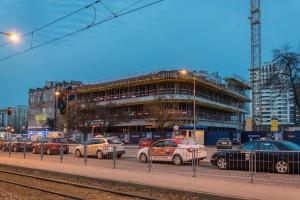 zdjęcie z budowy Villa Metro Business House