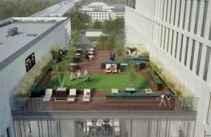zdjęcie z budowy Biurowiec Vector+