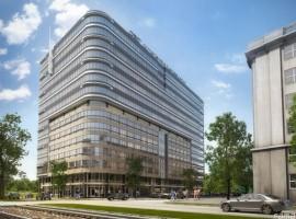 zdjęcie z budowy Domaniewska Business Center
