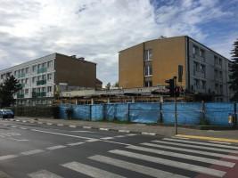 zdjęcie z budowy Ośrodek Profilaktyki i Epidemiologii Nowotworów (OPEN)