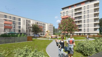 zdjęcie z budowy Rembertowska Park II