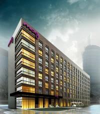 wizualizacje Hotel Moxy