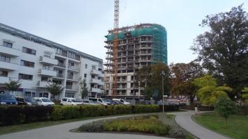 zdjęcie z budowy Platan Complex C