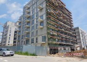 zdjęcie z budowy Mieszkaj w Mieście